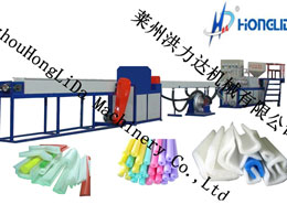 Foam Pipe/profile/cornerite production line